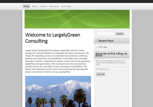 LargelyGreenConsulting